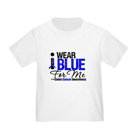 I Wear Blue For Me Toddler T-Shirt