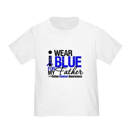 I Wear Blue (Father) Toddler T-Shirt