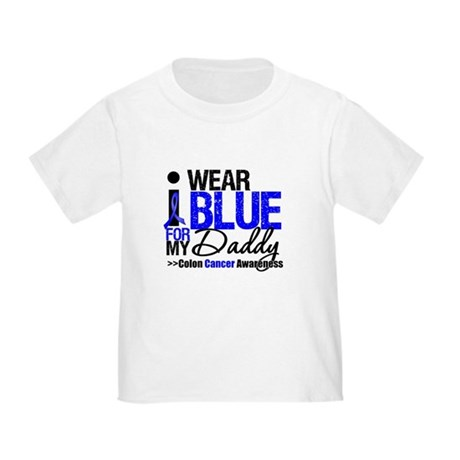 I Wear Blue (Daddy) Toddler T-Shirt