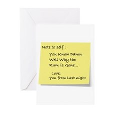 Note to self... Greeting Cards (Pk of 20)