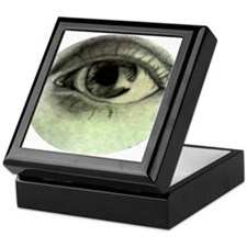 Unique Eye Keepsake Box