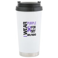 IWearPurpleGirlfriend Ceramic Travel Mug