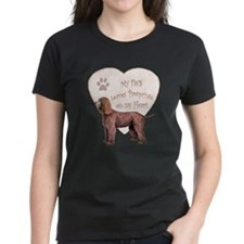 Irish Water Spaniel Heart Tee