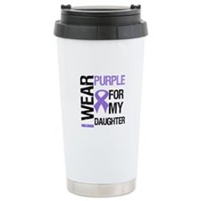 IWearPurpleDaughter Ceramic Travel Mug
