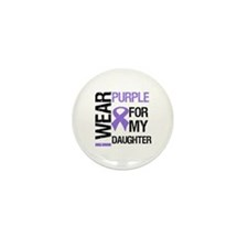 IWearPurpleDaughter Mini Button (10 pack)