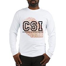 CSI TV Show Long Sleeve T-Shirt