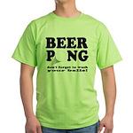 Wash Your Balls Green T-Shirt