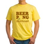 Wash Your Balls Yellow T-Shirt