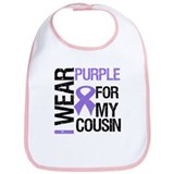 IWearPurpleCousin Bib
