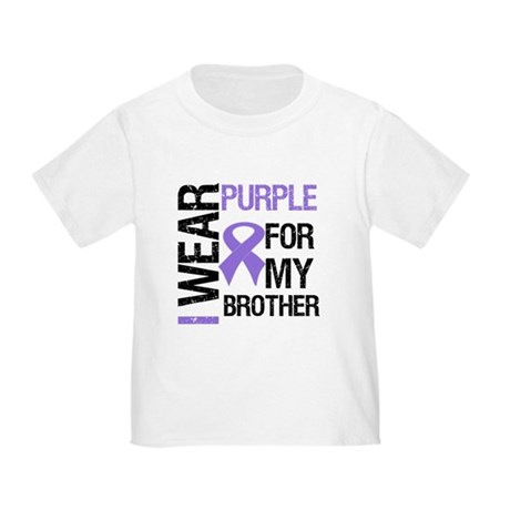 IWearPurpleBrother Toddler T-Shirt