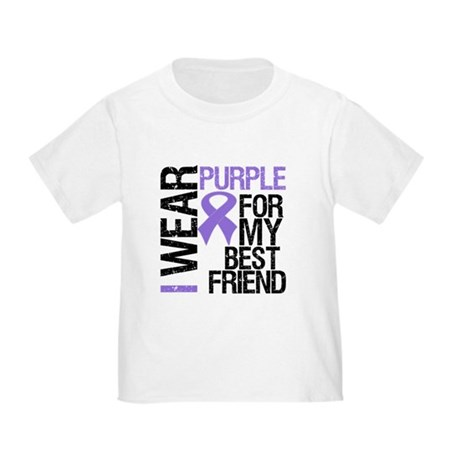 IWearPurpleBestFriend Toddler T-Shirt