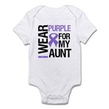 IWearPurple Aunt Infant Bodysuit