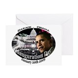 Barack Obama Inauguration Day Greeting Card