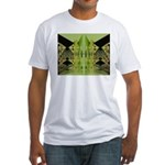 Temple Entrance Collection Fitted T-Shirt