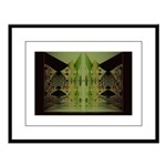 Temple Entrance Collection Large Framed Print