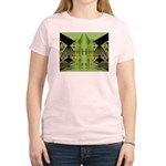Temple Entrance Collection Women's Pink T-Shirt