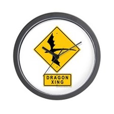 Dragon XING Wall Clock