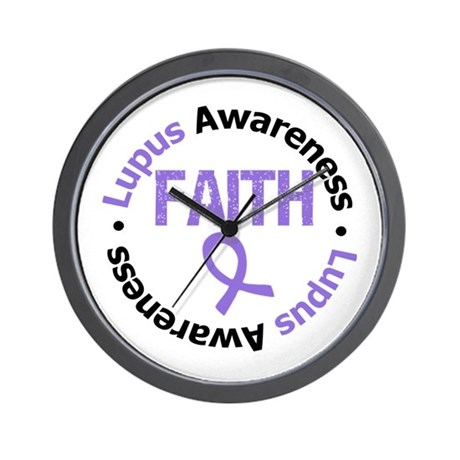 Lupus Faith Wall Clock