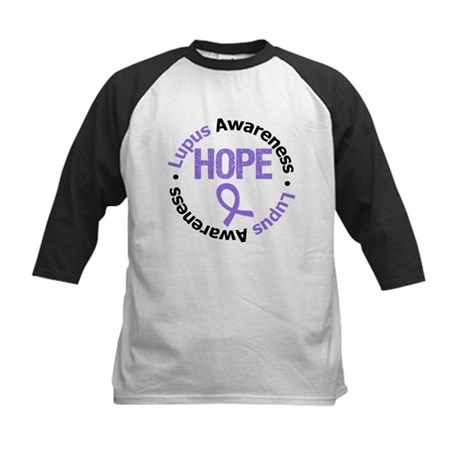 Lupus Hope Kids Baseball Jersey
