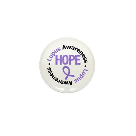 Lupus Hope Mini Button