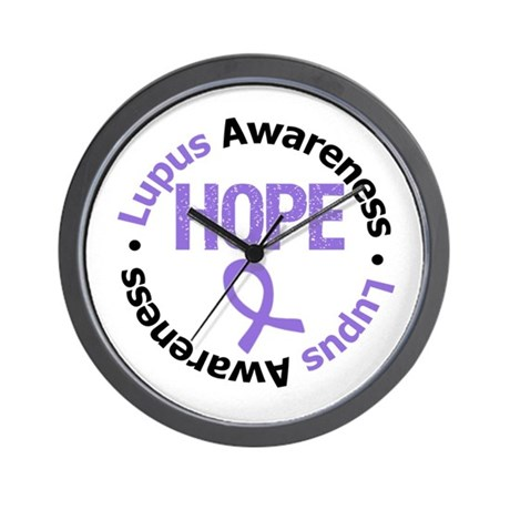 Lupus Hope Wall Clock