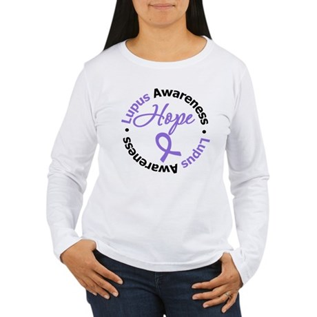 Lupus HOPE Women's Long Sleeve T-Shirt