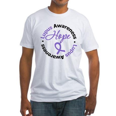 Lupus HOPE Fitted T-Shirt