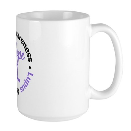 Lupus HOPE Large Mug