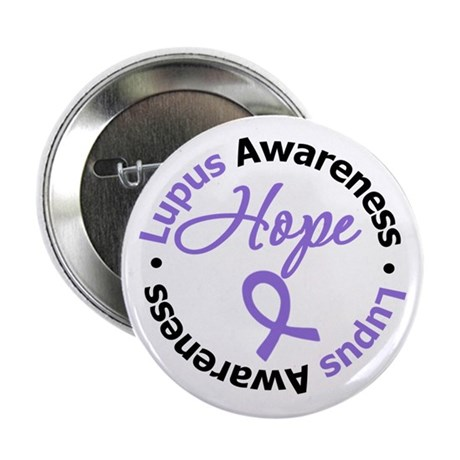 "Lupus HOPE 2.25"" Button"
