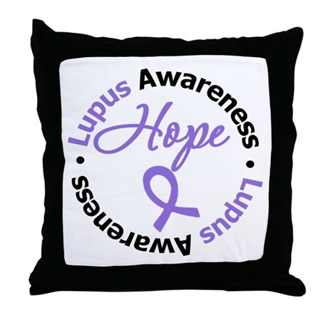Lupus HOPE Throw Pillow
