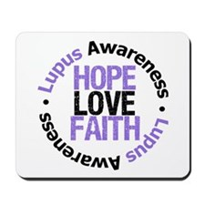 LupusHopeLoveFaith Mousepad