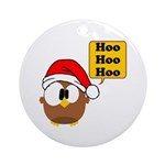 Hoo Hoo Hoo Ornament (Round)