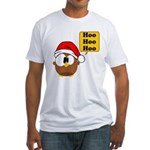 Hoo Hoo Hoo Fitted T-Shirt