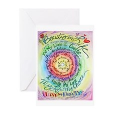 Beauty in Life (Cancer) Greeting Card
