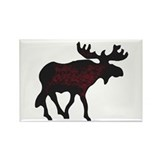 Moose Rectangle Magnet (10 pack)