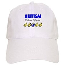 Autism, Embrace Differences Baseball Cap