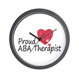 Proud ABA Therapist Wall Clock