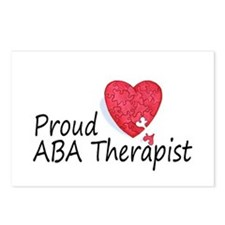 Proud ABA Therapist Postcards (Package of 8)