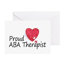 Proud ABA Therapist Greeting Cards (Pk of 10)