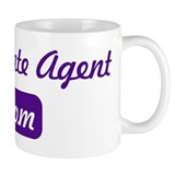 Real Estate Agent mom Small Mug