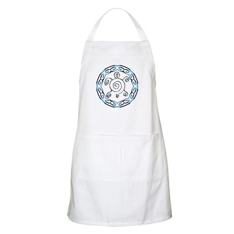 Spiral Turtles BBQ Apron