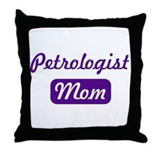 Petrologist mom Throw Pillow