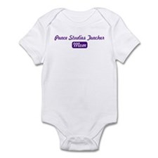 Peace Studies Teacher mom Infant Bodysuit