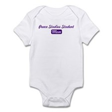 Peace Studies Student mom Infant Bodysuit