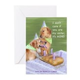 Golden Retriever Birthday Card (Pk of 10)
