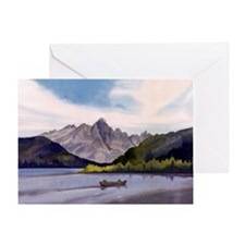 Redfish Lake Greeting Card