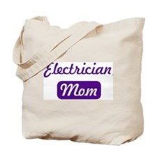 Electrician mom Tote Bag