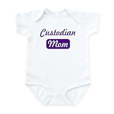 Custodian mom Infant Bodysuit