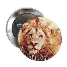 "Lion 2.25"" Button (100 pack)"