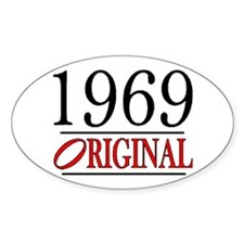 1969 Oval Decal